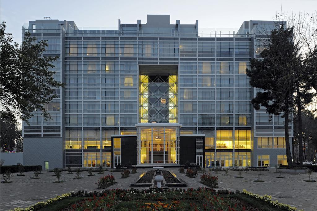 Hotel Serena Dushanbe view