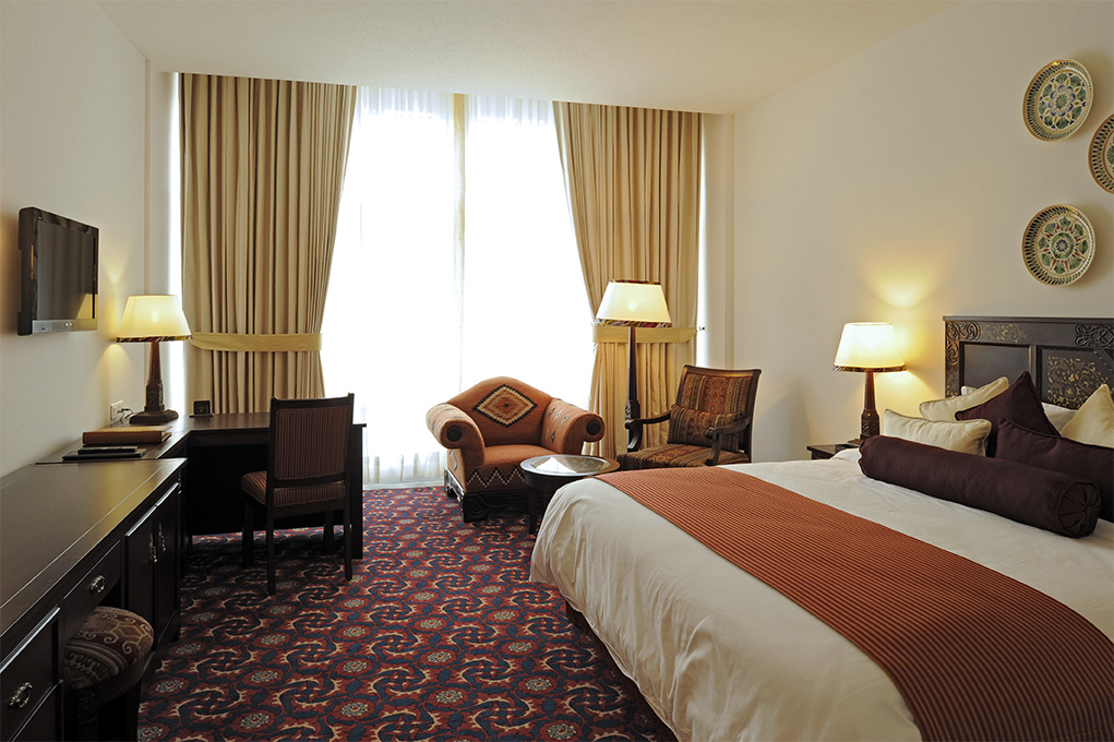 Hotel Serena Dushanbe room picture